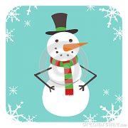 avatar-piano-dell-icona-del-pupazzo-di-neve-63403994